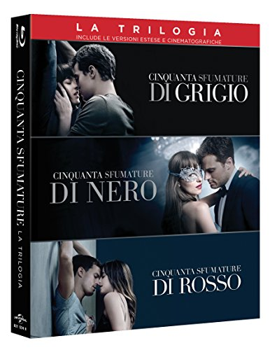 Fifty Shades of Grey - 3-Movie Collection [Blu-ray] (3-Disc) Import, Deutsche Syncronisation
