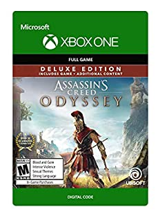 Assassin's Creed Odyssey - Deluxe Edition - Xbox One [Digital Code] (B07DMB8SP7)   Amazon price tracker / tracking, Amazon price history charts, Amazon price watches, Amazon price drop alerts