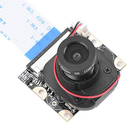 FOSA Raspberry Pi Manuelle IR-Cut Nachtsicht Kamera adjustable-focus Modul 5 MP HD Webcam ov5647 1080P Video mit 2 Füllen Licht für Raspberry Pi 2/B +
