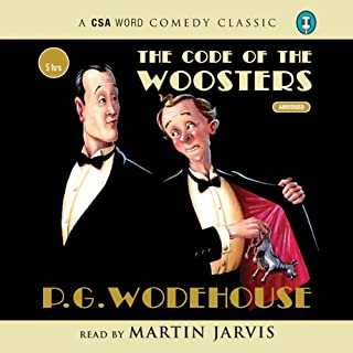 The Code of the Woosters                   By:                                                                                                                                 P. G. Wodehouse                               Narrated by:                                                                                                                                 Martin Jarvis                      Length: 4 hrs and 58 mins     83 ratings     Overall 4.7