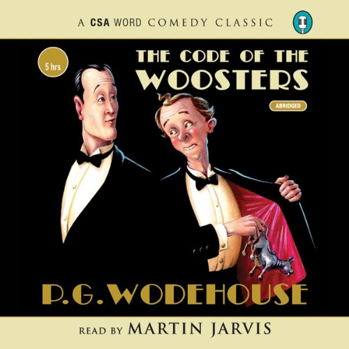 The Code of the Woosters audiobook cover art