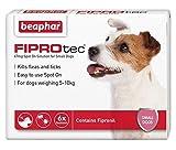 Beaphar® FIPROtec® Kill <span class='highlight'>Flea</span> Ticks Spot On Drop <span class='highlight'>Treatment</span> Protection for Small Medium Large XL <span class='highlight'>Dog</span>s Puppies (6 <span class='highlight'>Treatment</span>s, <span class='highlight'>Dog</span> (Small 5-10kg))