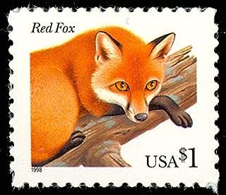 Red Fox Mint $1 Single Postage Stamp Scott 3036