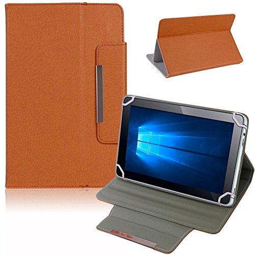 NAUC Tablet Tasche Hülle Schutzhülle für Captiva Pad 7 Case Schutz Cover Bag, Farben:Braun