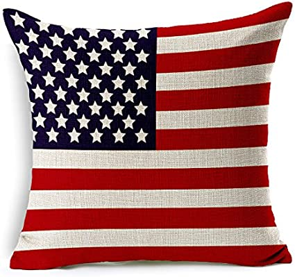 Huacel Colorful Various Of National Flag Throw Pillow Cases Sofa Bedroom Cotton And Linen Cushion Cover Standard Size 18x18 Inch 45x45cm Canada Amazon Ca Home Kitchen