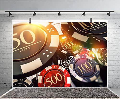 Leyiyi Casino Chips Fotografie Hintergrund Las Vegas Nevada Gambling House Bokeh Schnäppchen Chip Roulette Rad Glück Kartenspiel Hintergrund Underground Bar Foto Portrait Vinyl Video Studio Prop