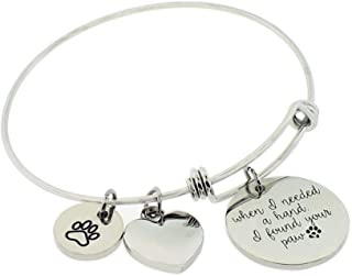 hand and paw bracelet
