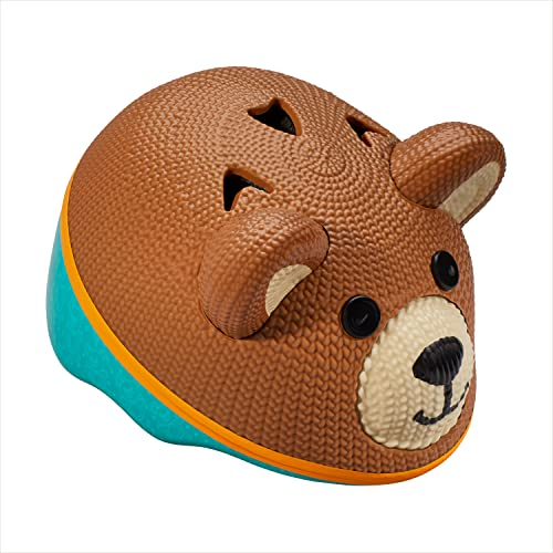 Schwinn Kids Bike Helmet with 3D Character Features, Infant and Toddler Sizes, Infant, Teddy Bear