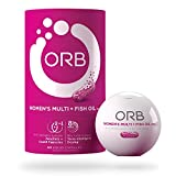 ORB Women'S MULTIVITAMIN + Fish Oil – A Complete Multi + Fish Oil |Heart Health Support, Antioxidant Support, Supports a Positive Mood, 21 Essential Vitamins – 60 Count