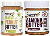 Organic Peanut Butter (Crunchy) (1kg) + All Natural Almond Butter (Crunchy) (200g)