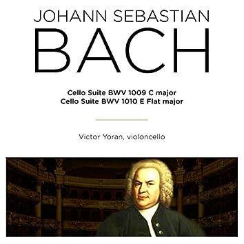 Bach: Cello Suite, BWV 1009 & 1010