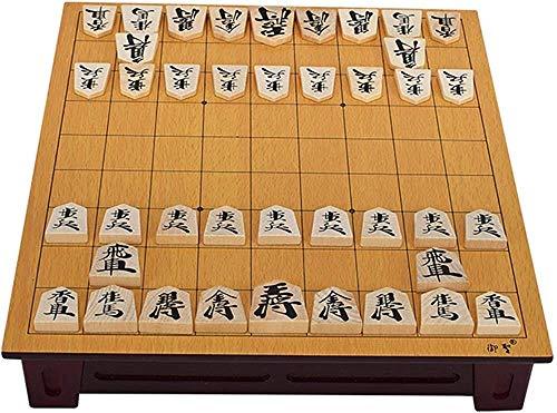 Schach-Set Brettspiel für Kinder Erwachsene Erzwürdige Holz Japan Shogi 27 25 5 cm 40 teile / set Internationale Checker Falten Sho-GI Schachspiel Spielzeug Geschenk Kinder Casual Puzzle Part A0-290B