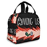 Lunch Bags Insulated Lunch Boxes Insulated Picnic Pouch Thermal Cooler Tote Bento Large Meal Prep Big Leakproof Soft Bags For Kids Teens Boys Girls for work outdoor picnic Camping, Travel, Fishing