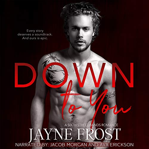 Down to You: Rockstar Romance audiobook cover art