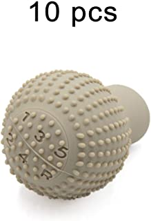 Generic Anti-Scratch Bump Shift Knob Protective Cover Case - Beige Color