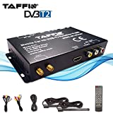 TAFFIO Universal KFZ Auto DVB-T2 H.265 HD DIGITAL Receiver MPEG2/4 240 km/h TV Empfang