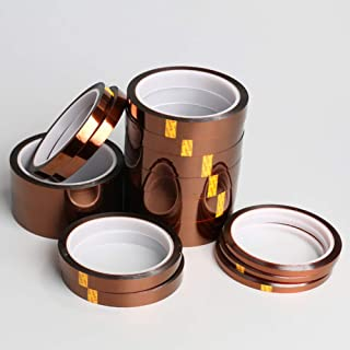 Meiyiu High Temperature Kapton Tape Polyimide Film Tape for Masking 3D Printing Electric Task Soldering 33m 20mm Wide x 33...