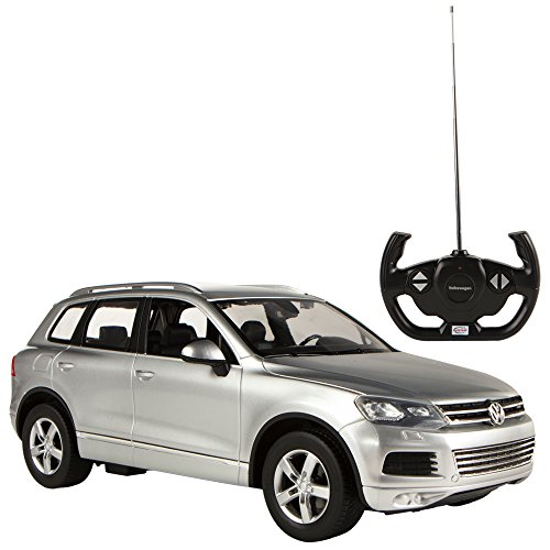 RC Auto kaufen Spielzeug Bild: Rastar Volkswagen Touareg, RC Auto, Maßstab 1: 14 grau*