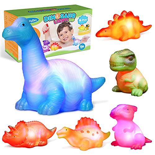 Qukir Dinosaurios Juguetes Niños 2 1 3 4 Años, Montessori 1-4 Años Mordedor Bebe Refrigerante Sonajeros Bebes 6-12 Meses Regalo Niña 2 3 4 1 Año