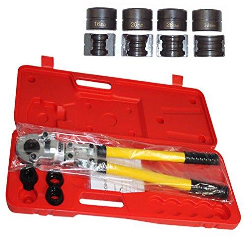 OBLLER PINZA Crimpatrice Pex. Pressatrice Per Multistrato Professionale Manuale.16-32mm