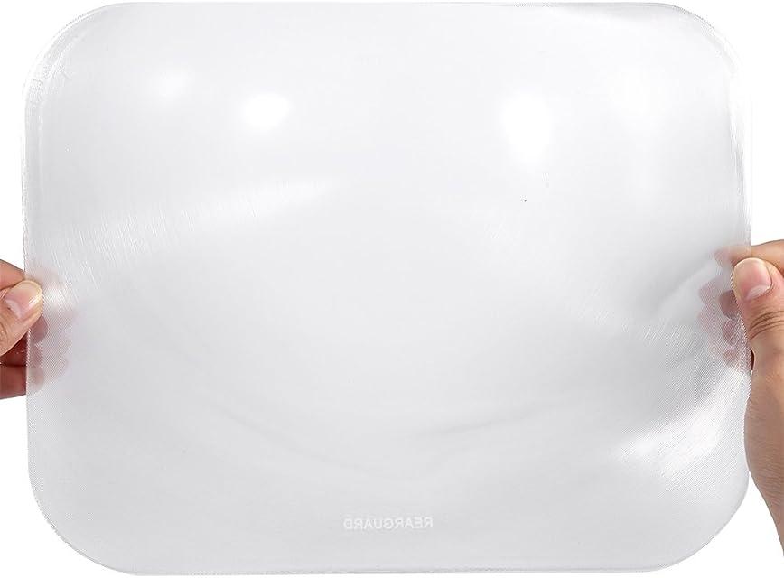 Aramox Etiqueta engomada granangular posterior de la lente del coche Nueva lente trasera de gran angular Reversión de la ventana de estacionamiento Etiqueta de la lente