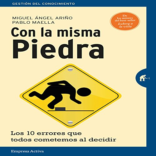 Con la misma piedra [With the Same Stone] audiobook cover art