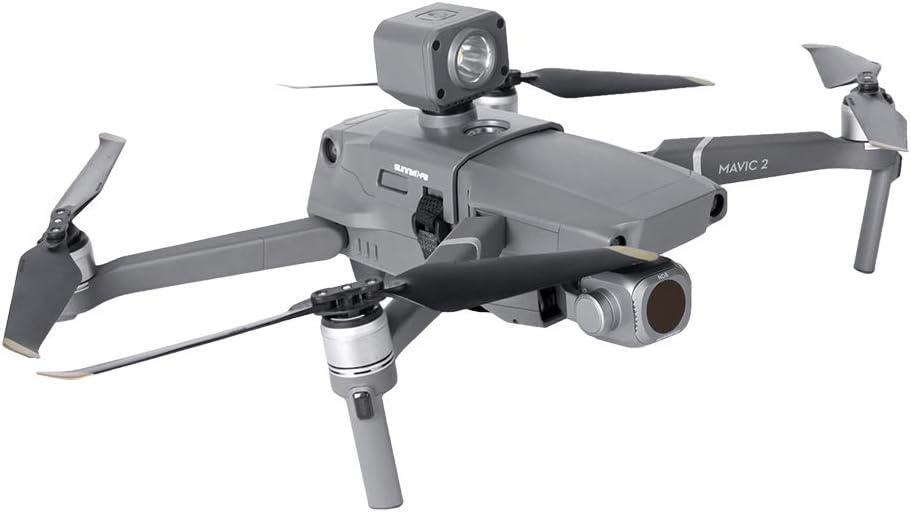 Anti-Collision Drone Lights Headlight Flash Lamp Kit Compatible with DJI Mavic 2 RC Drone Anbee RC Drone Night Flight Light with Holder Mount