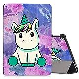 ZhuoFan Hülle für Huawei Mediapad M5 Lite 10 Tablette, Mediapad M5 Lite 10 10,1