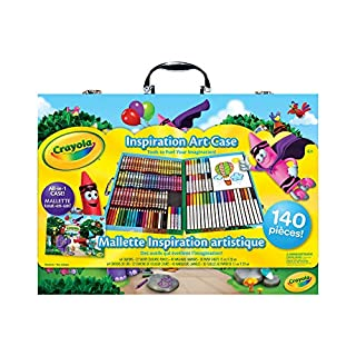 Crayola Inspiration Art Case; 140 Art Supplies, Crayons, Gift for Boys and Girls, Kids, Adults, Ages 3,4, 5, 6, and Up, Arts and Crafts, Colored Pencils, Washable Markers, Paper, Portable Case, Back to school, School supplies, Gifting (B00CMM4VF4) | Amazon price tracker / tracking, Amazon price history charts, Amazon price watches, Amazon price drop alerts