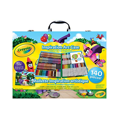 Crayola Inspiration Art Case; 140 Art Supplies, Crayons, Gift for Boys and Girls, Kids, Adults, Ages 3,4, 5, 6, and...