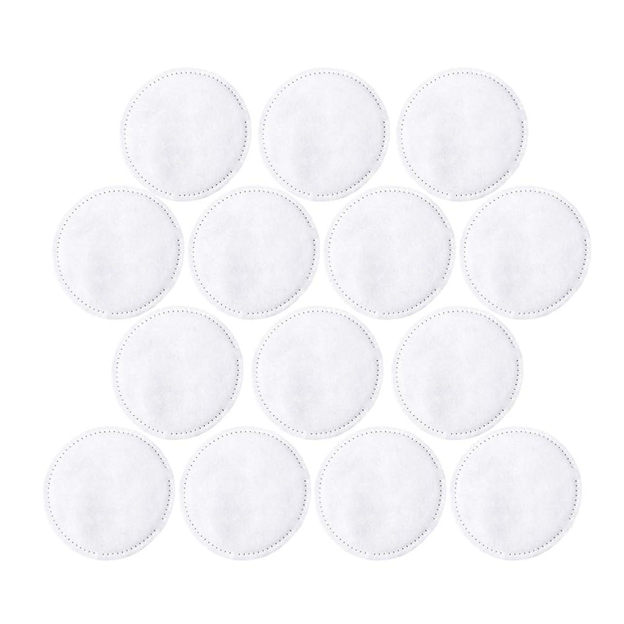 必要性出くわす策定するFrcolor コットンパフ 化粧コットン コットンパッド 3層 ラウンド 丸型 メイク落とし用 フェイスメイク用 フェイシャル 300枚セット(ホワイト)