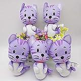 Peluches Bubble Guppies Kitty Plush Toy Muñeca Linda Regalo para Niños 5 Piezas