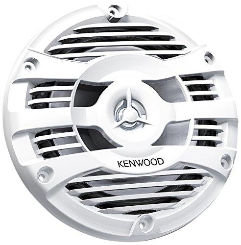 KENWOOD KFC-1653MRW Altavoces Marinos de 2 vías de 170mm | Sistema de Altavoces para Barco con Cono Hidrófugo de 170mm. para Uso Exteriores y en Condiciones de Humedad. Rejilla Resistente a Rayos UV