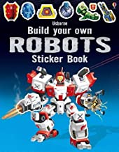 Usborne Books Build Your Own Robots Sticker Book
