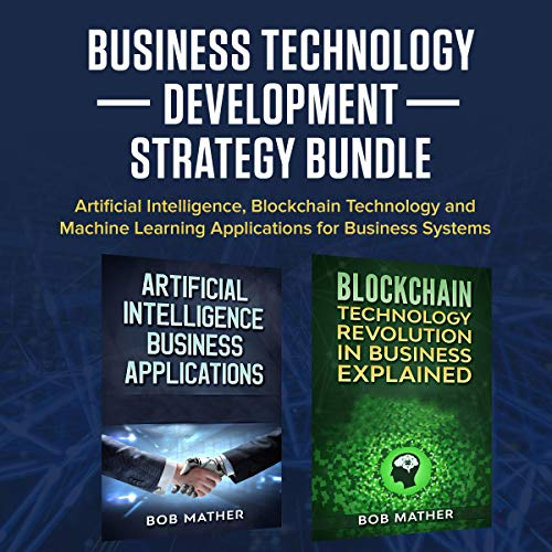 Business Technology Development Strategy Bundle audiobook cover art