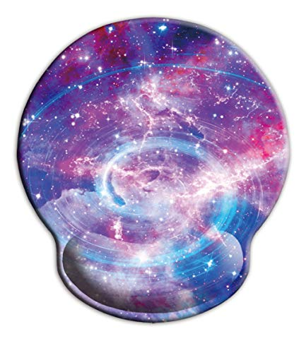 Computer Mouse Pad with Wrist Support,iKammo Mini Cute Memory Foam Non Slip Gel Wrist Rest Mouse Pad for Gaming,Working,Office & Home (Color 17)