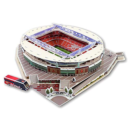 LEEBA 3D Three-Dimensional Puzzle Football Soccer Field DIY Football Stadium Adults Children's Puzzle Jigsaw Assembly Toys