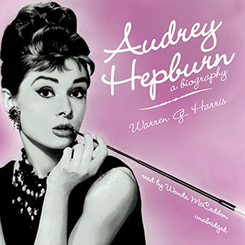 Audrey Hepburn audiobook cover art