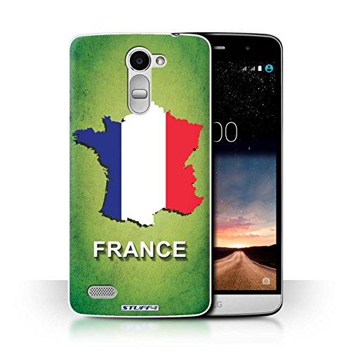 Hülle Für LG Ray/X190 Flagge Land Frankreich/Französisch Design Transparent Ultra Dünn Klar Hart Schutz Handyhülle Hülle