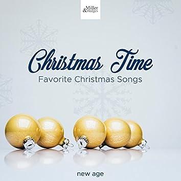 Christmas Time - Christmas Hymns, Favorite Christmas Songs, Instrumental Piano Music