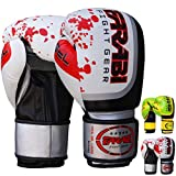 Farabi Sports Boxing Gloves Boxing Gloves for Training Punching Sparring...