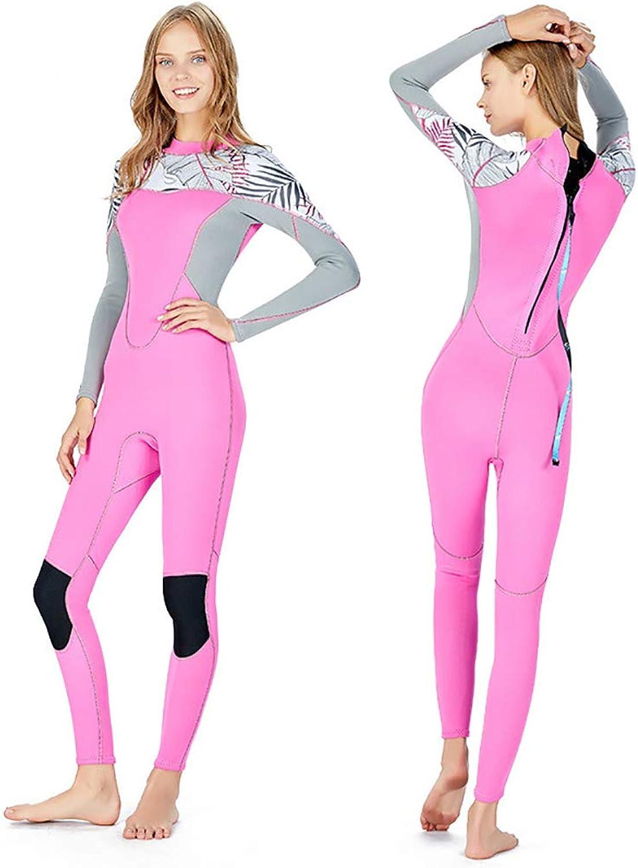 Boman Wetsuit 2MM Neoprenanzug für Damen mit Kapuze Superelastischer, kalter, Warmer Tauchanzug UPF50 + Anti-Puncture Wear Anti-Scratch Komfortabler Tauchanzug