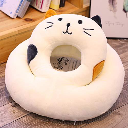 Washable Cute Cat Soft Nap Pillow Office Sleep Pillow Office Table School Desk Cushion Girlfriend Kids Bithday Gift 35x35cm