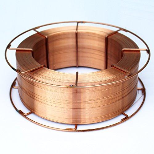 MIG/MAG Schweißdraht Ø 0,8 mm G3Si1/SG2 15 kg D300 Rolle Schutzgas