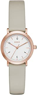 DKNY Women's Analogue Quartz Watch with Leather Strap NY2514
