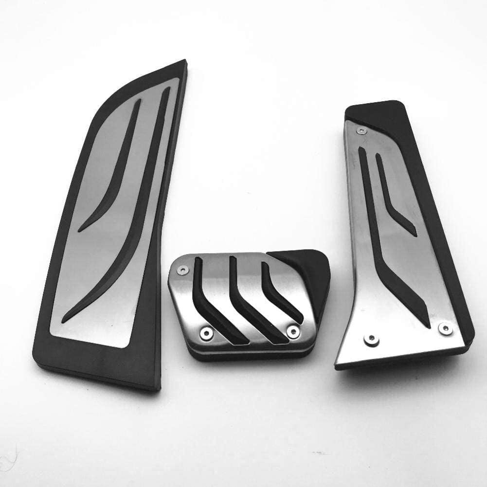 Color : Footrest 1 Pcs Car Pedals RHD Stainless Steel Brake Footrest Pedal Car Cover Styling Sticker Pad Kit,for BMW 420i 425i 440i 430i F32 F33 F36 F35 435 428,Color:Full Set 3 Pcs Car Pedal
