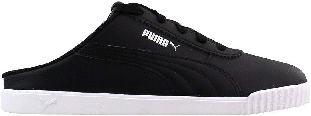 PUMA Womens Carina Slim Mule Sneakers Shoes Casual - Black