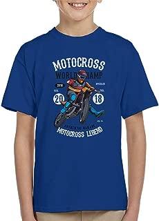 Motocross World Champ Kid's T-Shirt