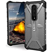 URBAN ARMOR GEAR UAG OnePlus 7 Pro Case Plasma [Ash] Transparent Feather-Light Rugged Military Drop Tested Cover