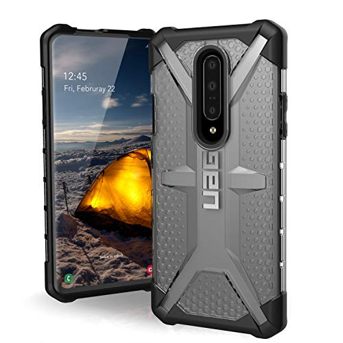 URBAN ARMOR GEAR UAG OnePlus 7 Pro Case Plasma [Ice] Transparent Feather-Light Rugged Military Drop Tested Cover